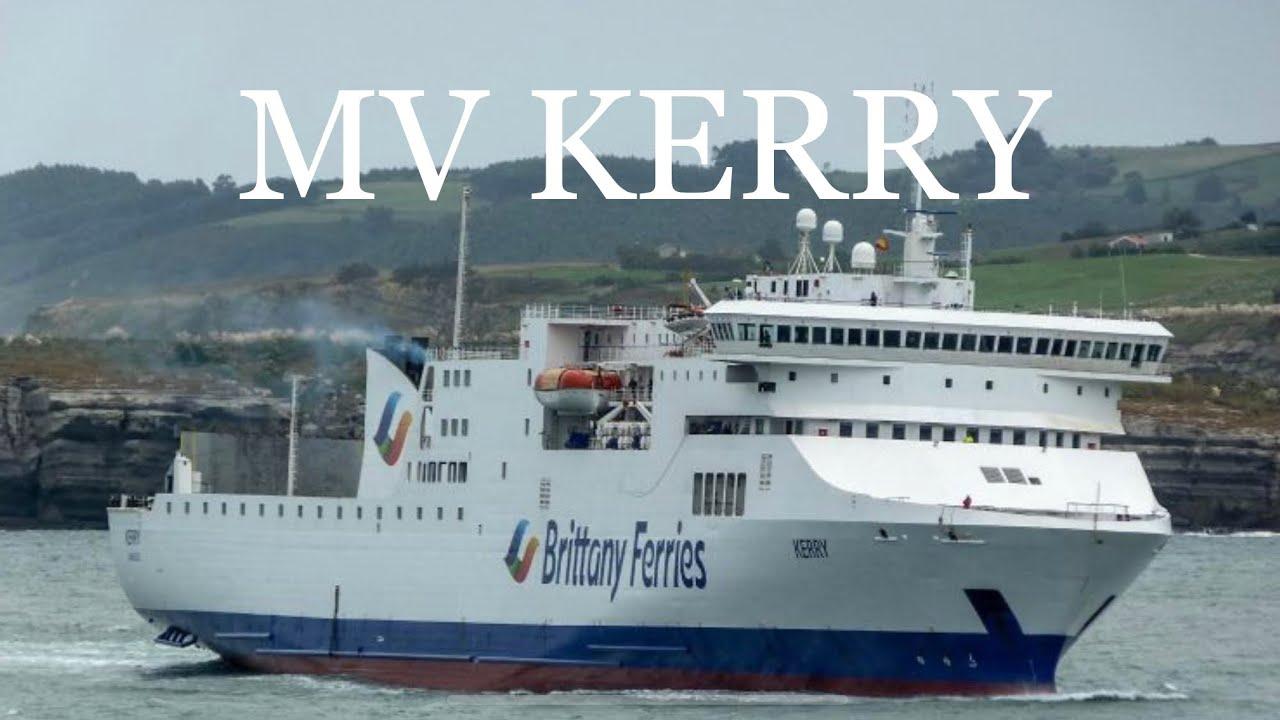 Mv Kerry Brittany Ferries Youtube