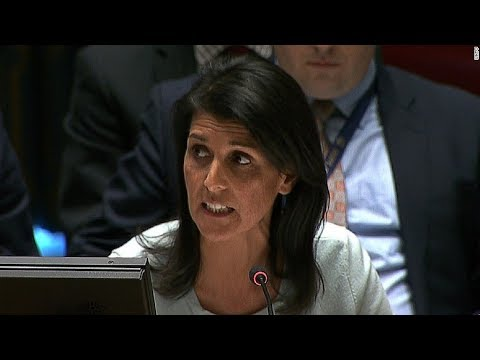 #Qanon;WHAT UN ambassador Nikki Haley just SAID Will DESTROY the UN International Security Council thumbnail
