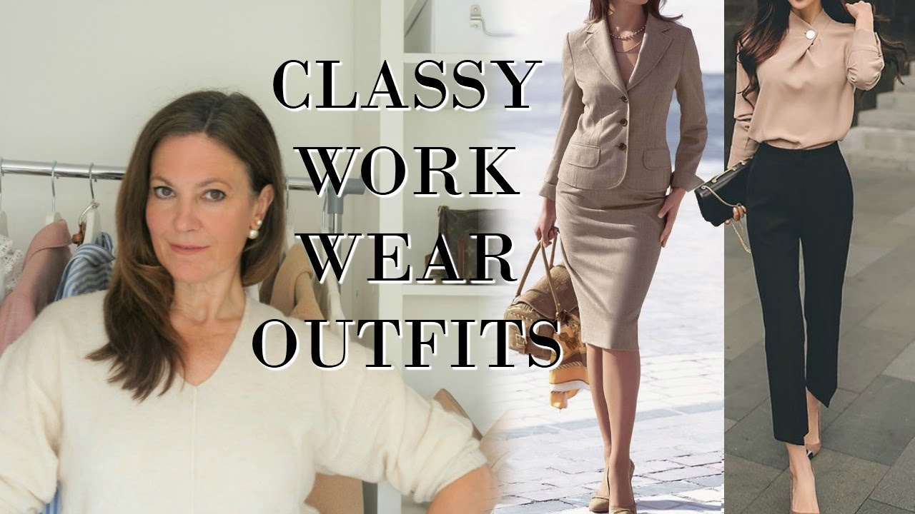 Classy Work Wear Outfits | Fashion Over 40 | Classy Women Style