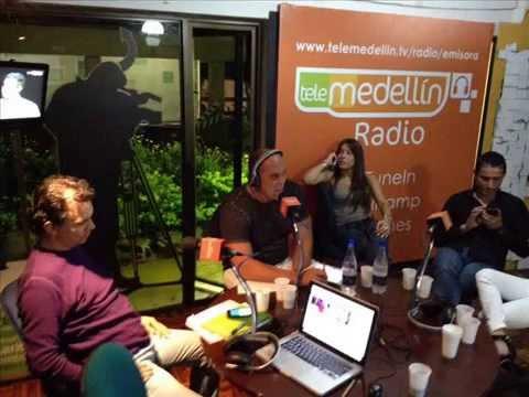Waldemaro Martinez en TeleMedellin Radio Colombia en Vivo