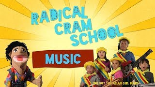 "RADICAL CRAM SCHOOL #6 Music (Original Music Video for ""ASIAN GIRL BLUES"")"