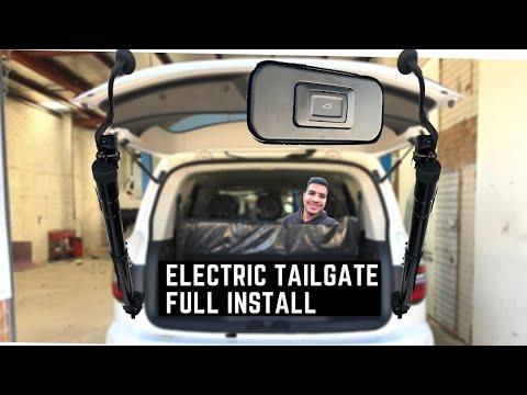 Electric Tailgate Install | Nissan Patrol Y62 | DIY