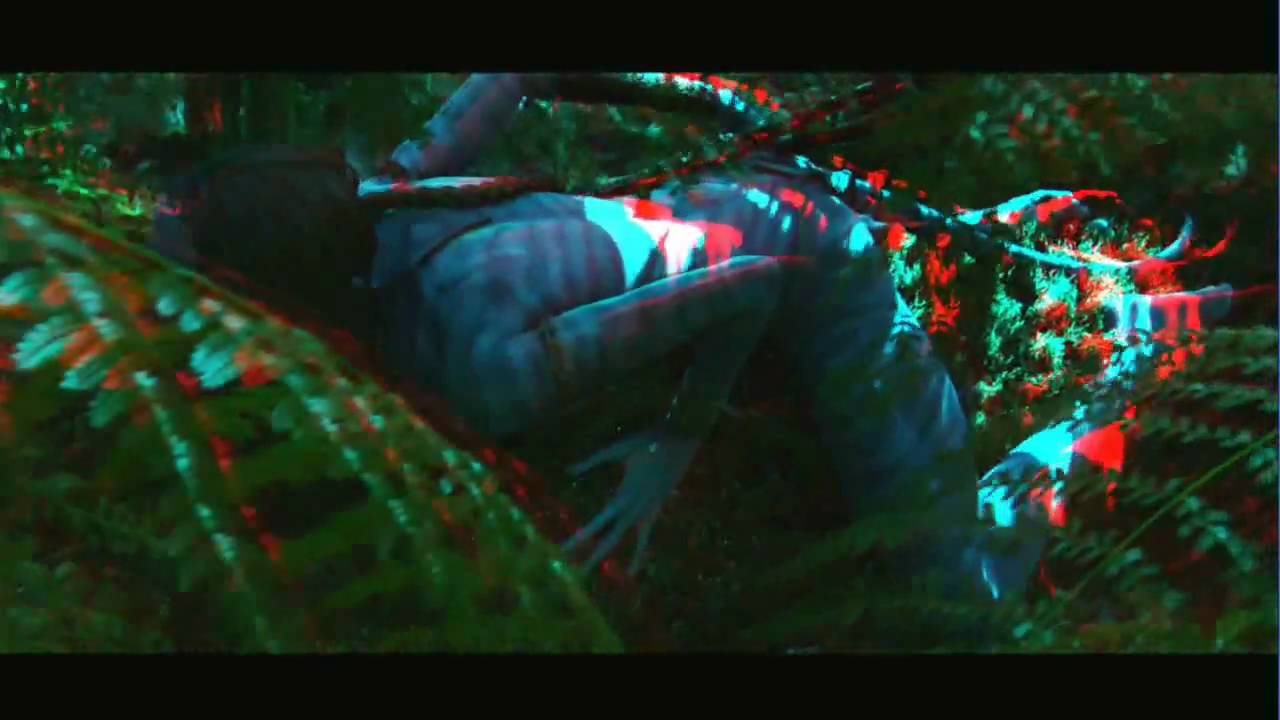 avatar 3d trailer anaglyph - free direct download - youtube