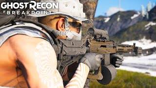THERE IS NO GUN BETTER THAN THE AK74 ASSAULT in Ghost Recon Breakpoint Free Roam