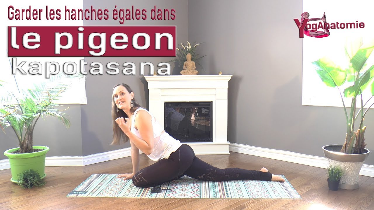 YogAnatomie : Comment garder les hanches égales dans le