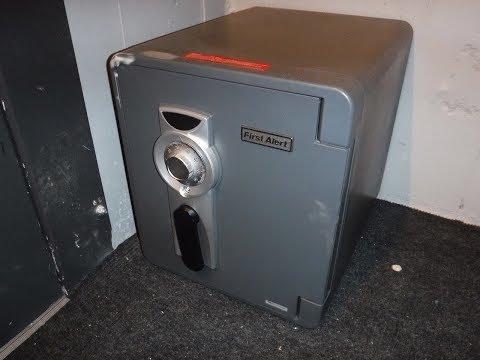 Mounting a First Alert Safe to the Floor