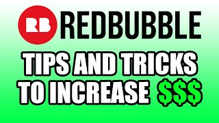 Uploading Tips & Tricks for Passive Income on Redbubble