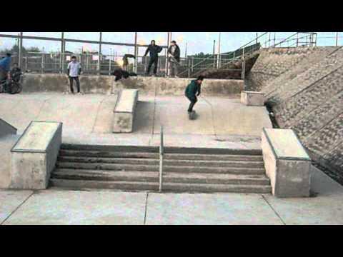 """Diego """"pecesillo"""" Navarrete - Skatepark San Antonio"""