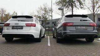 Audi RS6 C7 w/ Milltek Exhaust VS Audi RS6 C7 w/ Akrapovič Exhaust | Startup + REVS + Driving