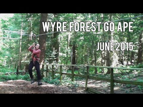 Wyre Forest Go Ape - June 2015