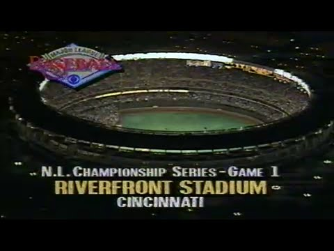 1990 NLCS Game #1: Pirates at Reds