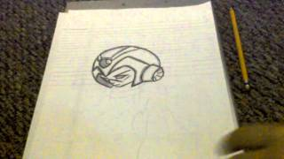 How to Draw-Megaman