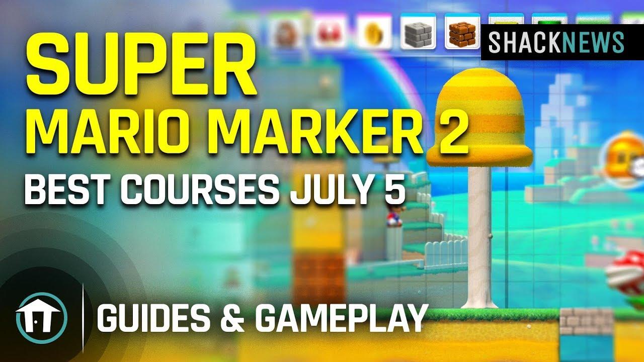 Best level codes in Super Mario Maker 2 Course World   Shacknews