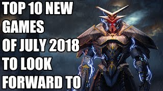 Top 10 New Games Of July 2018 To Look Forward To  Ps4, Xbox One, Switch, Pc
