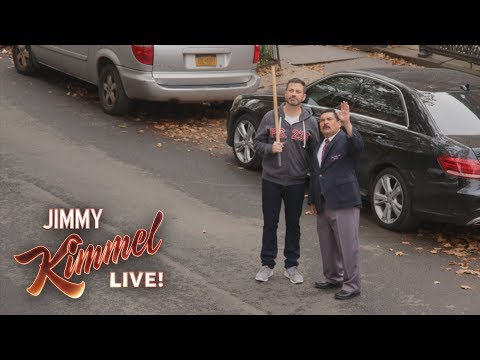Download Youtube: Jimmy Kimmel & Guillermo Break Rosie Perez's Window