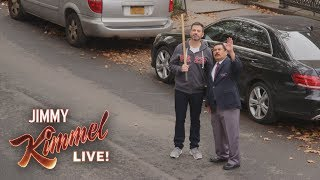 Jimmy Kimmel & Guillermo Break Rosie Perez