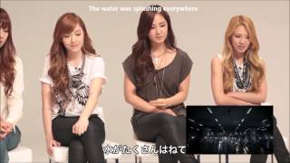 eng sub 1080p hd 120928 snsds reactions to bad girl mv