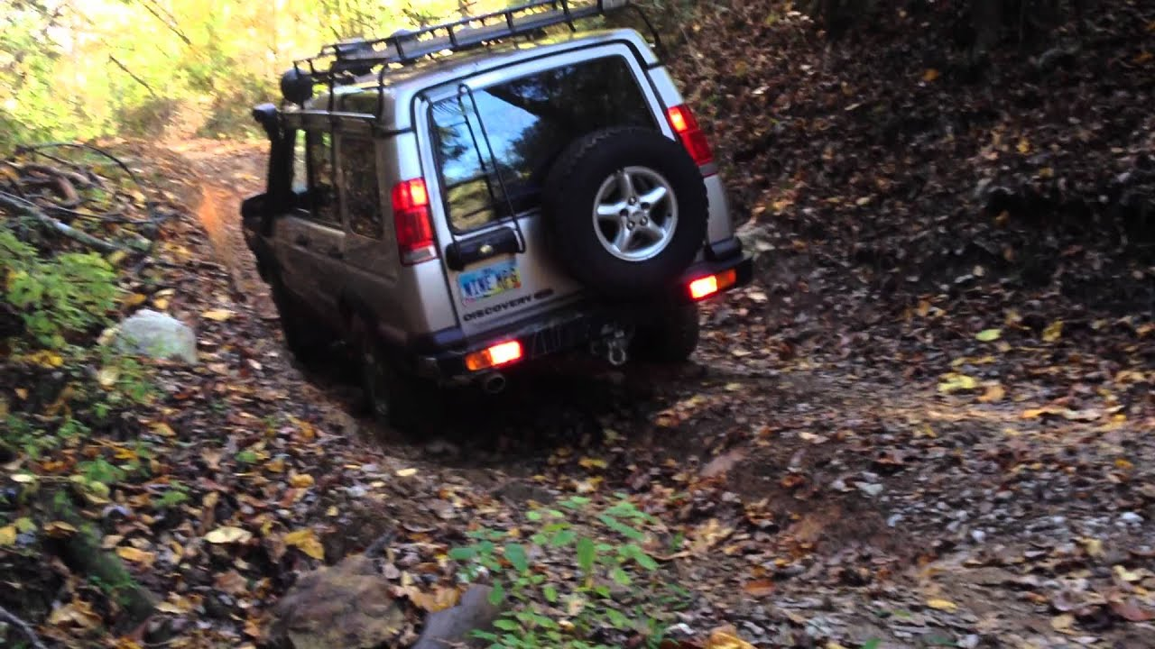 Land Rover Discovery II Red River Gorge Kentucky