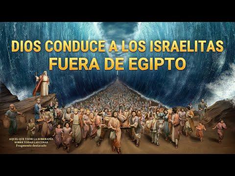Dios Conduce A Los Israelitas Fuera De Egipto