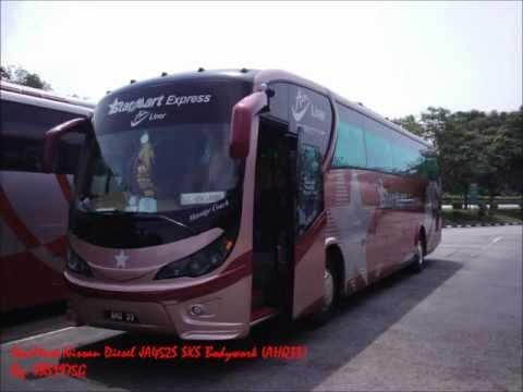 [Audio] StarMart Nissan Diesel JA452S SKS e128i Bodywork (AHQ33 - SG to KL)