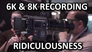 BEST New Sensor at the Show? - RED Weapon Upgrade - NAB Show 2015