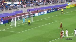 Mundial Sub 20 2017 - Final Venezuela Inglaterra - Penal atajado a Peñaranda