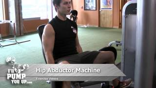 Hip Abductor Machine - How To