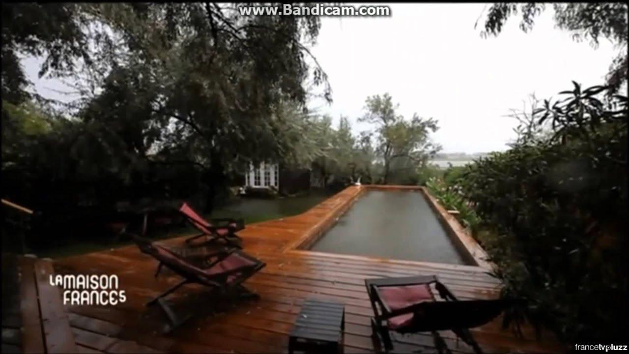 piscines en bois massif dans l 39 mission la maison france. Black Bedroom Furniture Sets. Home Design Ideas