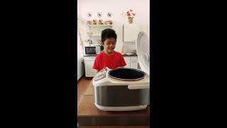 Membuat Bubur Manado Praktis dengan Digital Rice Cooker MITO