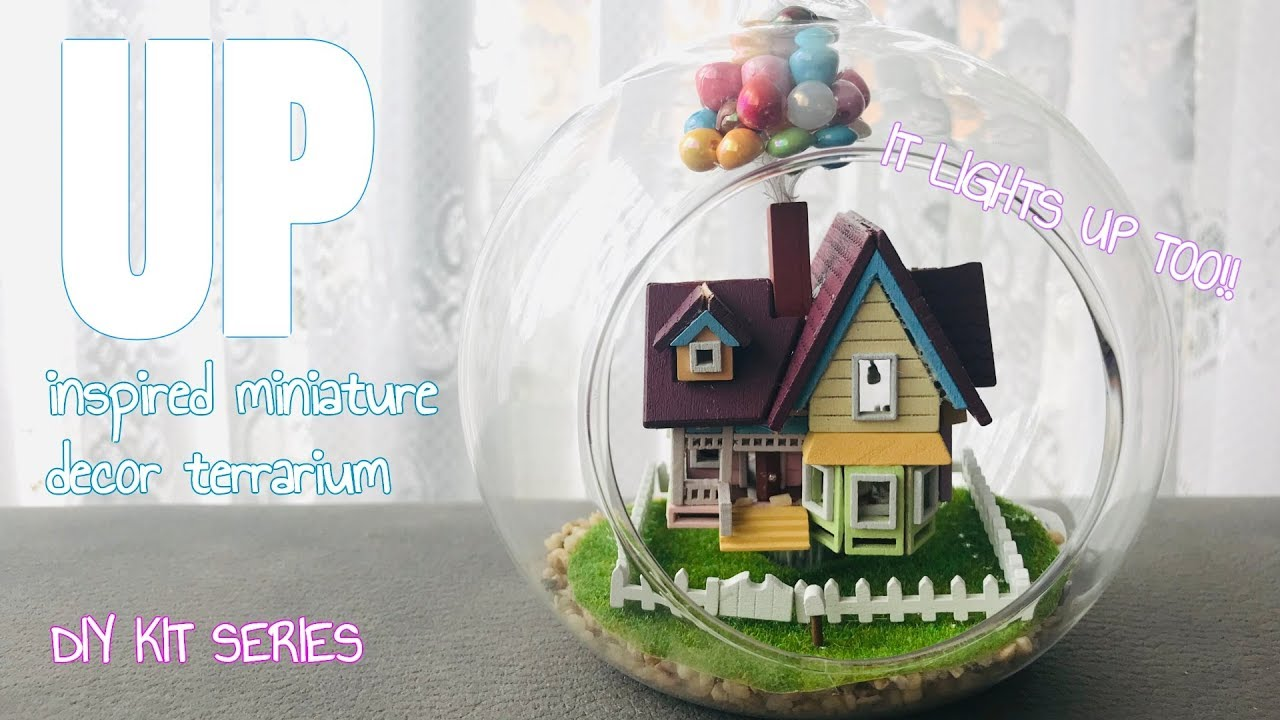 Disney Up House Model Kit Ornaments Aliancapegovbr