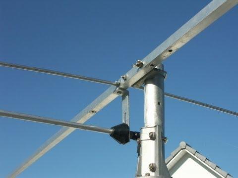 3 Element Homebrew Yagi Antenna For 28 Mhz Youtube