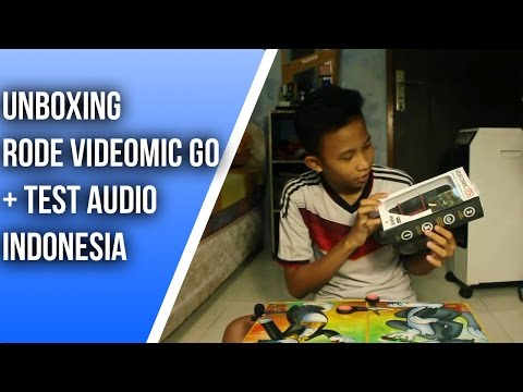 UNBOXING Rode Videomic GO + Test [INDONESIA]