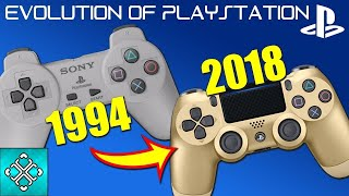The Evolution Of The Playstation Consoles (1994-2018)