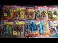 Toybiz Marvel Uncanny Xmen, Xforce, Fantastic Four & Spiderman Action Figure Collection