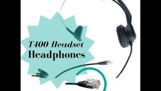 Headset Headphones Ear Phone for Plantronics