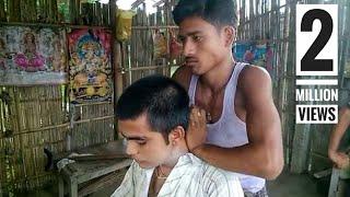 Bihar Head Massage 1.0 | B-ASMR | Ravindra Barber