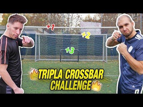 TRIPLA Crossbar CHALLENGE - Vincerà il TASTO BOMBER ??