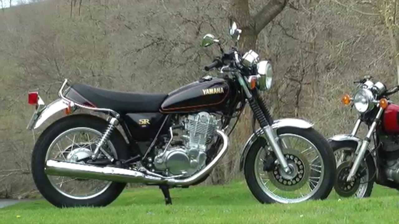 essai yamaha sr 400 le retour du kick youtube. Black Bedroom Furniture Sets. Home Design Ideas