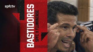 BASTIDORES: SÃO PAULO 3x1 FLUMINENSE   SPFCTV