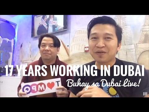 17 YEARS WORKING IN DUBAI (via FB Live)