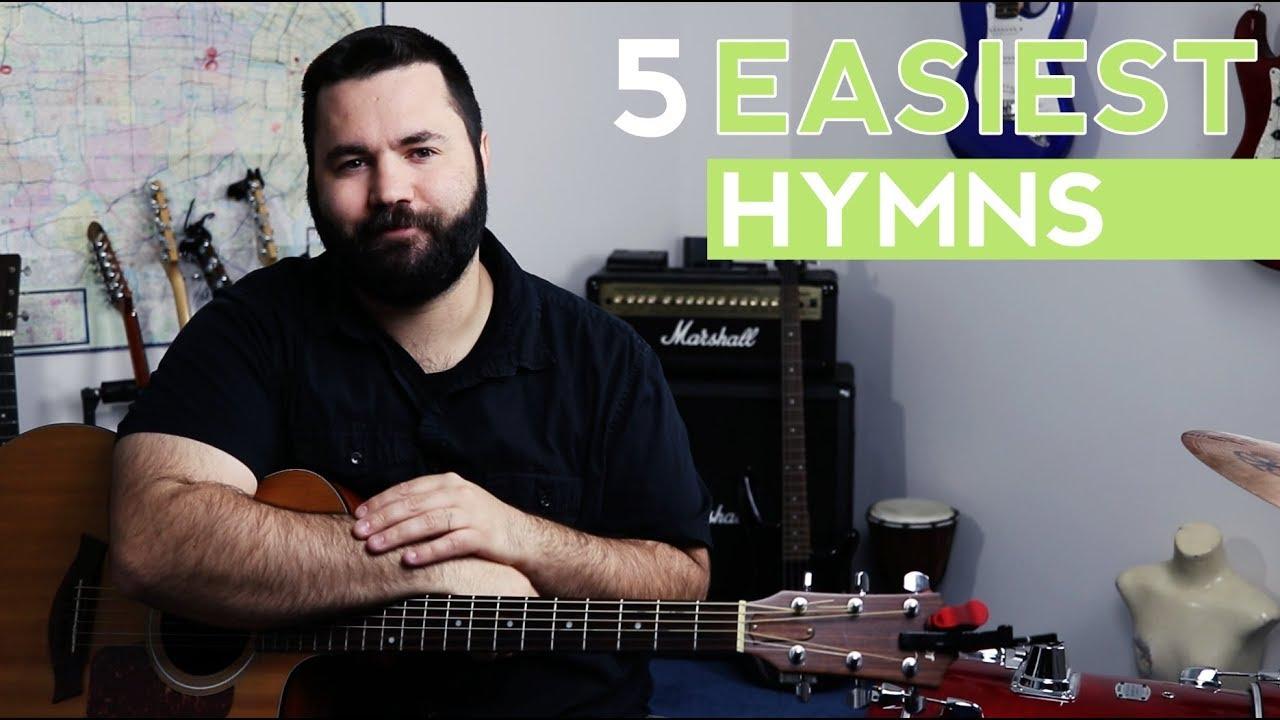 The 5 Easiest Hymns on Guitar (Easy Guitar Tutorial)