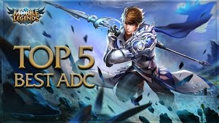 mobile legends how to play adc how to be an ad carry