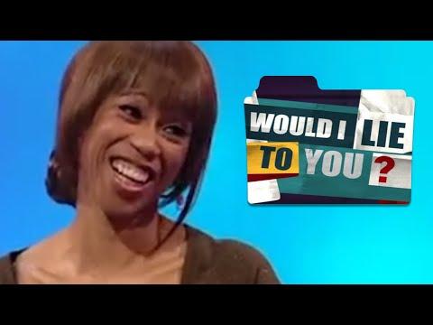 Trisha Goddard, Ben Shephard, Frankie Boyle, Rich Hall in Would I Lie to You?   Earful #Comedy