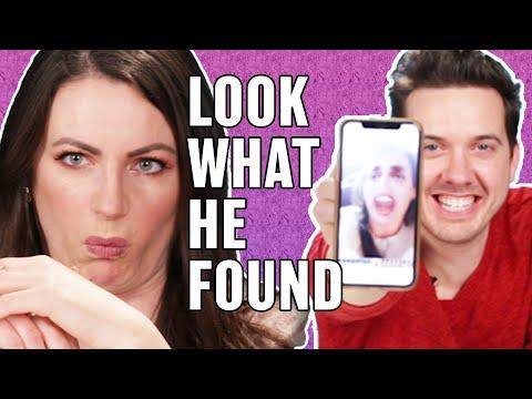 Couples Swap Phones