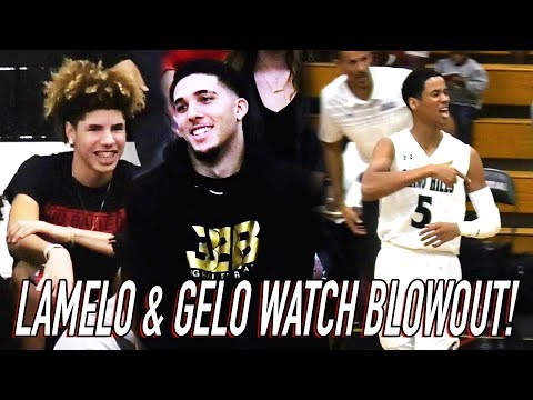 LaMelo Ball Watches Chino Hills Get DESTROYED By Mobley Brothers! Chino Hills First L Of Season