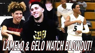 LaMelo Ball Watches Chino Hills Get DESTROYED By Mobley Brothe…