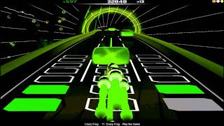 Play The Game - Crazy Frog (Tetris Theme) (Audiosurf)