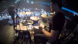 【The Angel Without Wings】墮落天使 (Fallen Angel) - LIVE @ BMTH Taipei concert (Drum Cam) 2014/11/23