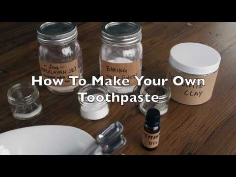 DIY Tooth Powder / Toothpaste