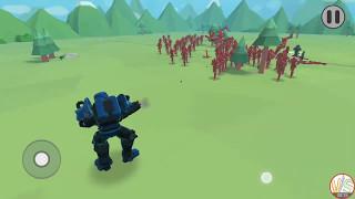 Minigun VS 100 Man New Epic Unit! Epic Battle Simulator 2